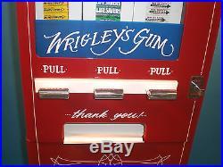 Vintage Antique Gum & Mint Vending Machine 5 Cents
