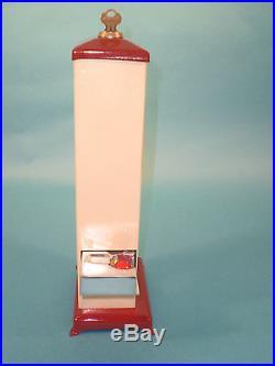 Vintage Antique Hawkeye Gumball Jaw Breaker Vending Machine