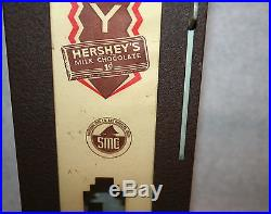 Vintage Antique Hershey's One Cent Coin Op Machine Countertop Model