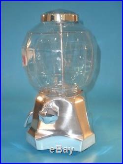 VINTAGE ANTIQUE MAGNA VENDOR PEANUT GUMBALL VENDING MACHINE CIRCA 1930s