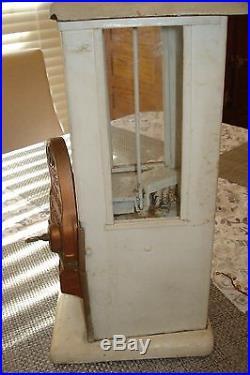 Vintage Antique Master Penny Drop Gumball Peanut Vending Machine