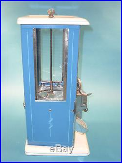 Vintage Antique Master Penny Peanut Vending Machine Circa 1923