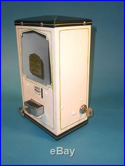 Vintage Antique Moderne Peanut Bulk Vending Machine