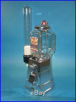 Vintage Antique Peanut Asco Hot Nut Vending Machine