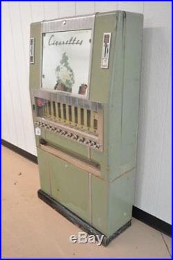 VINTAGE ART DECO NATIONAL CIGARETTE VENDING MACHINE 1940s AWESOME PIECE
