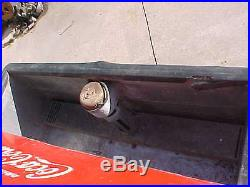 VINTAGE CAVALIER COKE MACHINE MODEL CHEST Original paint 44 X 26-1/2 X 36-1/2