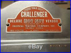 Vintage Challenger Hot Nut Machinetropical Trading Company! Very Good Condition