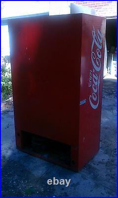 VINTAGE COKE BOTTLE VENDING MACHINE coca cola soda machine drink machine