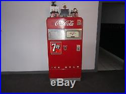 VINTAGE COKE MACHINE! VENDO 39 1940s VERY NICE SHAPE