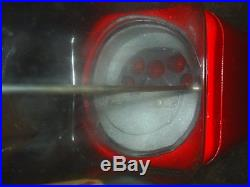 VINTAGE- Coca Cola THEMED Oak Candy / guumball Machine Glass with stand
