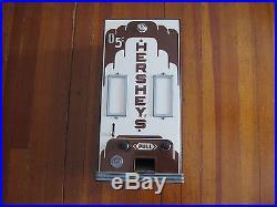 Vintage Hershey's 5 Cent Candy Vending Machine Circa 1937 Smc Company