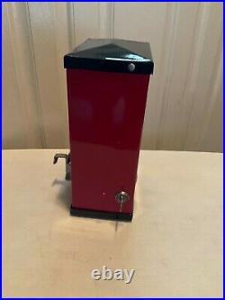 VINTAGE Moderne Peanut Vender AM WALZER 1 CENT PEANUT MACHINE/DISPENSER