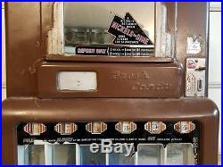 VINTAGE ORIGINAL 1940's STONER JR. CANDY MACHINE 6 PULL