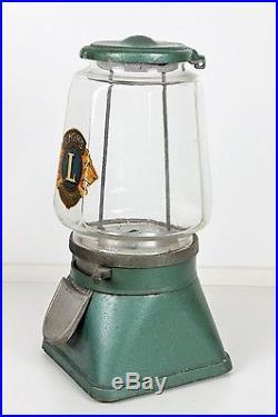 Vintage Original Lucky Boy Gumball Peanut Machine 1937