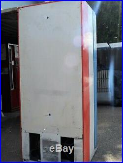 VINTAGE PEPSI Dr. Pepper COIN OPER VENDING MACHINE 1970s 1980's