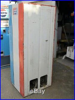 VINTAGE PEPSI vendorlator Side Door COIN OPER VENDING MACHINE 1960s