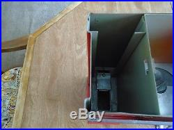 Vintage Premiere Oak 1 Cent Gumball & Baseball Card Vending Machine