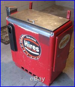 VINTAGE SODA POP SLIDER VENDING MACHINE 1950s