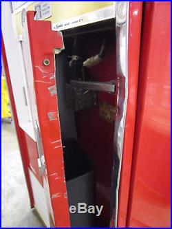 VINTAGE Vendo Coke Vending Machine H63A Original Paint Tested AS IS (450)