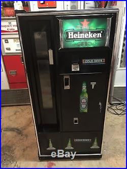 VINTAGE cavalier vendo coke beer heineken VENDING MACHINE CUSTOMIZE Corona