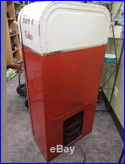 VTG 1950s V-39 10 Cents COKE COCA COLA Vending Machine (ALL ORIGINAL-SERVICED)