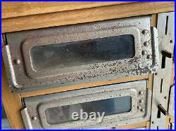 VTG 30s 40s Coin Opperated Every Ready Lunch Counter Wood Vending Machine