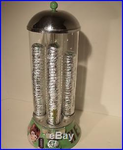 VTG Vending Machine, Hershey's Coin Op Dispenser, Vendor, gum, peanuts, Store Display