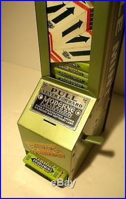 Vtg Wrigley's Gum Vending Machine, Coin Op, Store Display, Hershey, Trade Stimulator
