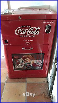 Vendo 23 Vintage Refurbished Coca-Cola Coke Machine