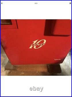 Vendo Model H81d 809 36941 Vintage 10 Cent Coke Machine 1950's Very Collectible