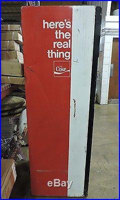 Vendo V-192-6 Vintage Pull Tab Coke Can Soda Pop Vending Machine Late 60s-70s