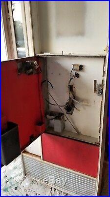 Vendo Vintage coke vending machine for restoration or parts, retro project