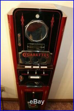Very Rare Vintage Vend-a-pack Cigarette Vending Machine