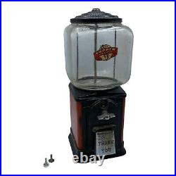 Victor Topper Deluxe 1 Cent GumBall, Nut, Candy Vending Machine (Vintage)
