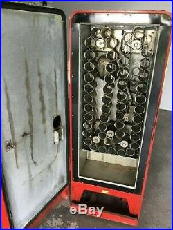 Vintage 10 cent COKE MACHINE original CAVALIER C-51 Coca-Cola vending machine