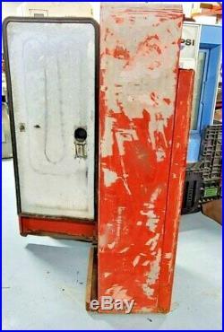 Vintage 10 cent Cavalier Coke Coca-Cola Bottle Vending Machine 64 inches tall