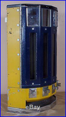 Vintage 1930's Adams 1 Cent Wall Mounted Chewing Gum Machine, Stewart & McGuire