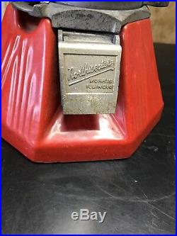 Vintage 1930s NORTHWESTERN PENNY PEANUTS or CANDY GUM MACHINE Old Soda Fountain
