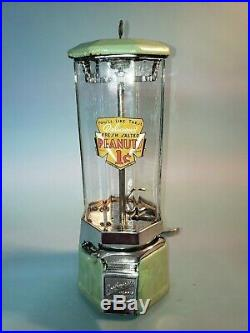 Vintage 1933 Northwestern Jr. Peanut Candy Vending Machine