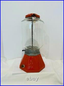 Vintage 1933 Northwestern Model 33 Gumball Peanut Candy One Cent Vending Machine