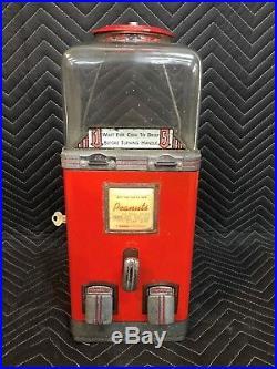 Vintage 1940's Nickel Penny Northwestern Deluxe Table Top Vending Machine