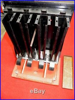 Vintage 1940's Razor Blade Vending Dispensing Machine Art Deco Nice Rare