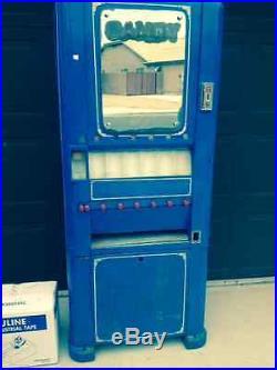 Vintage 1940's Rowe Vending Candy machine