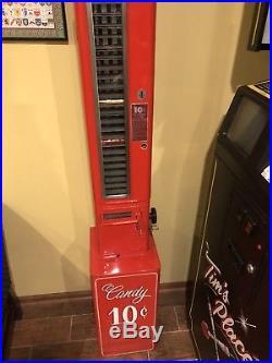 Vintage 1940's U-Select-It Coca Cola Candy Vending Machine