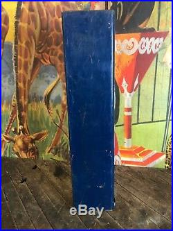 Vintage 1940s Art Deco Coin Operated Phillies Cigar Vending Machine Rare