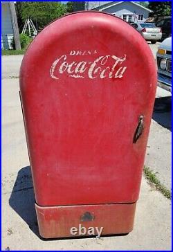 Vintage 1940s Jacobs Coca Cola Vending Machine Coke Coin Op