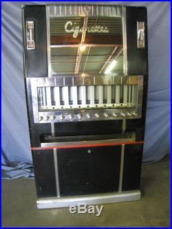 Vintage 1943 National Cigarette Vending Machine