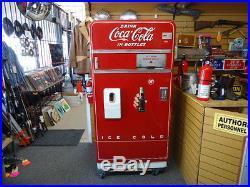 Vintage 1946 COCA-COLA VENDING MACHINE COKE MODEL F83H5 SHELL ONLY