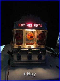 Vintage 1947 Coin Operated Challenger Hot Nut Vendor Machine