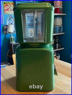 Vintage 1950's Bell National 5 Cent Gumball / Candy Vending Machine (nos)
